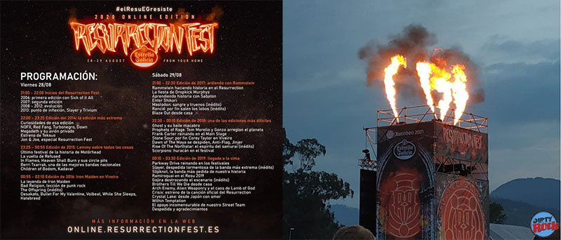 RESURRECTION FEST EDICIÓN ON LINE 2020