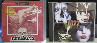 ZZ Top Degüello Kiss The Very Best disco