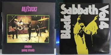 Buzzcocks Singles going Steady Black Sabbatth Vol. 4 disco