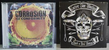 Corrosión Of Conformity Deliverance Lucifer Star Machine Rock'N'Roll Martyrs disco