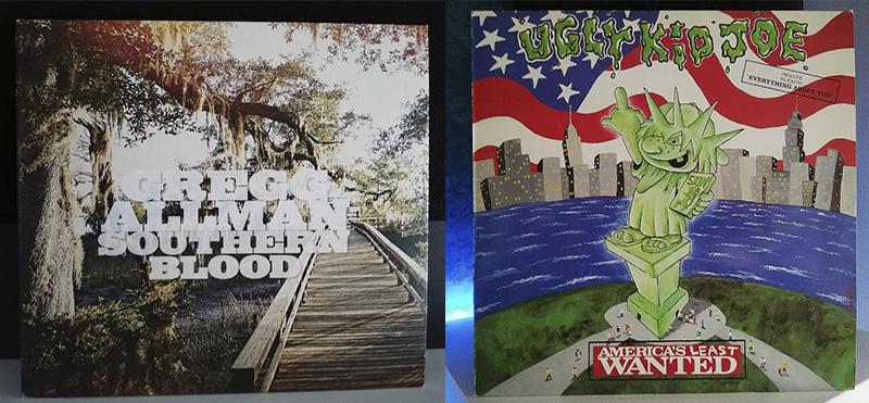 Gregg Allman Southern Blood Ugly Kid Joe America's Least Wanted disco
