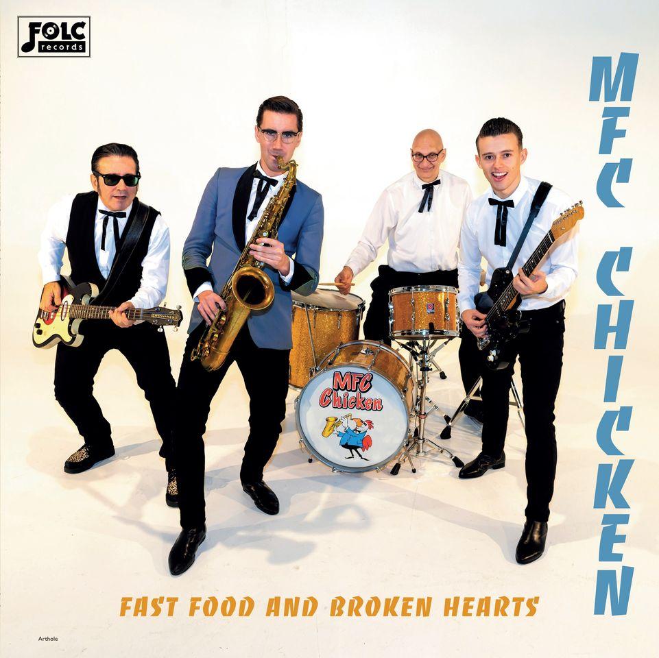 MFC Chicken publican nuevo disco Fast Food and Broken Hearts