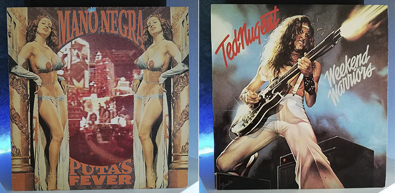 Mano Negra Puta's Fever Ted Nugent Weekend Warriors disco
