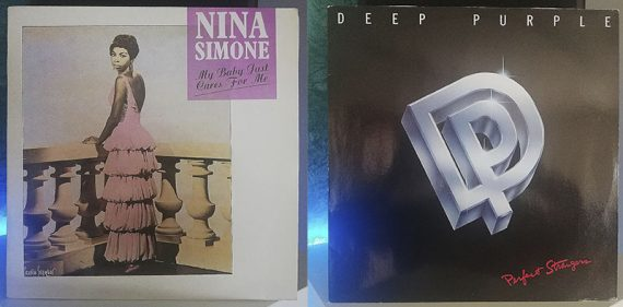 Nina Simone My Baby Just Cares for Me Deep Purple Perfect Strangers disco