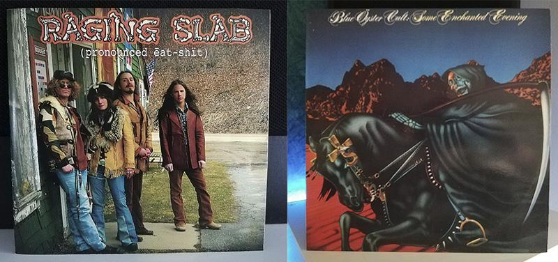 Raging Slab (pronounced ēat-shït) Blue Öyster Cult Some Enchanted Evening disco