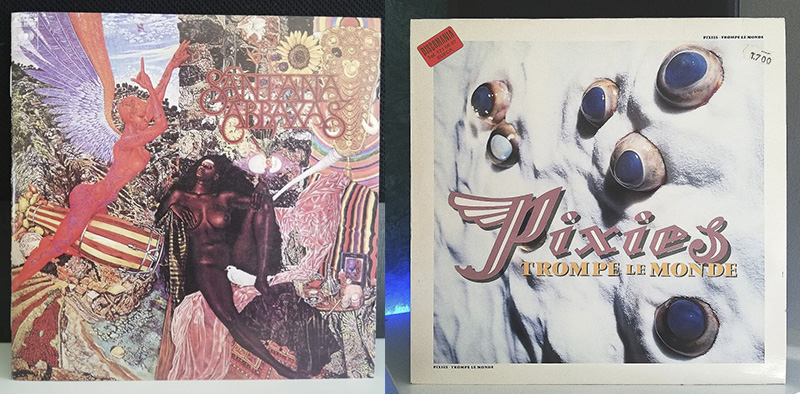 Santana Abraxas Pixies Trompe le Monde disco