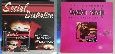 Social Distortion White Light, White Heat, White Trash Corazón Salvaje OST disco