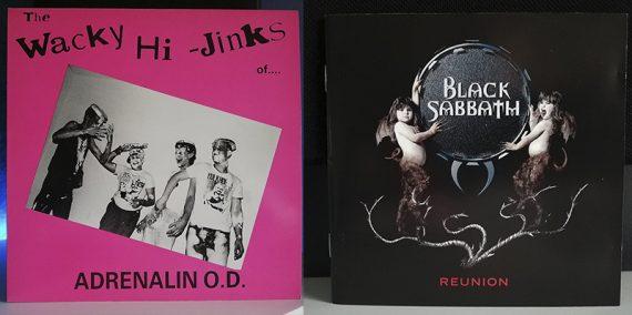 Adrenalin O.D. The Wacky Hi-Jinks Of Adrenalin O.D. Black Sabbath Reunion disco