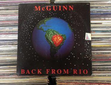 Back From Río (1991) de Roger McGuinn disco