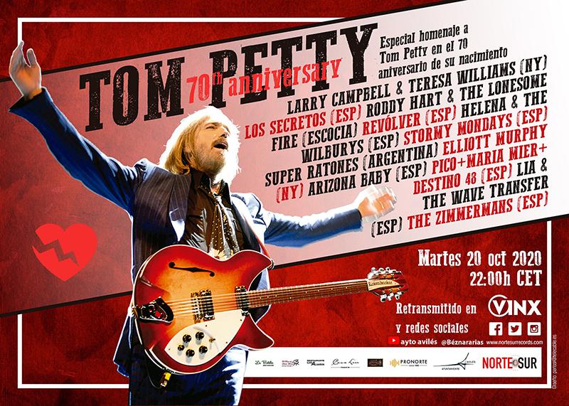 Concierto especial a Tom Petty en su 70 aniversario de nacimiento