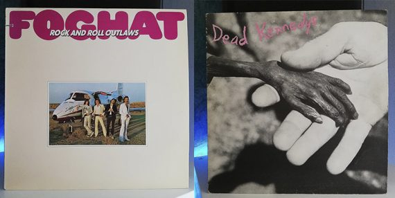 Foghat Rock and Roll Outlaws Dead Kennedys Plastic Surgery Disasters disco