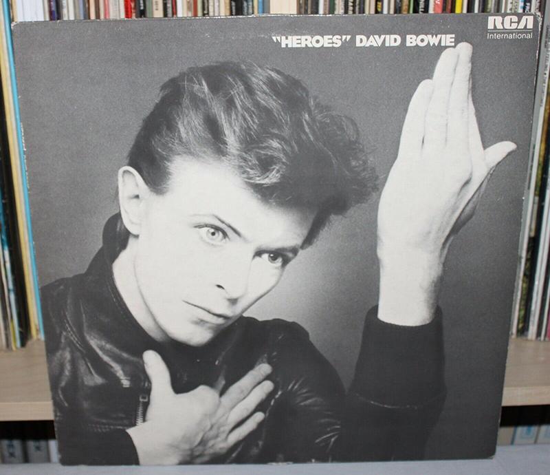 Heroes de David Bowie aniversario disco
