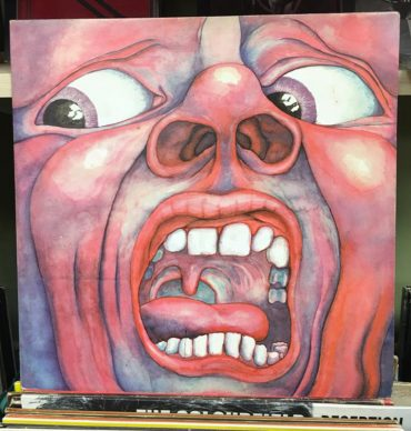 King Crimson In the Court of the Crimson King disco aniversario