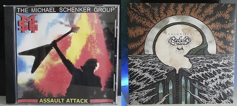 Michael Schenker Group Assault Attack Oranssi Pazuzu Valonielu disco