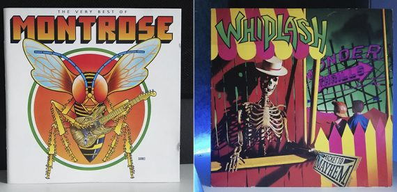 Montrose The Very best of Whiplash Ticket to Mayhem disco