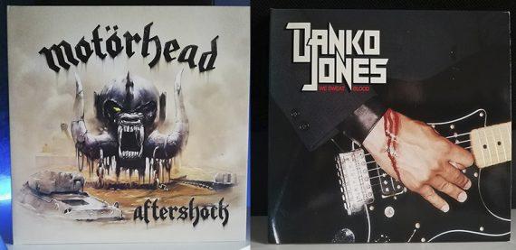 Motörhead Aftershock Danko Jones We Sweat Blood disco