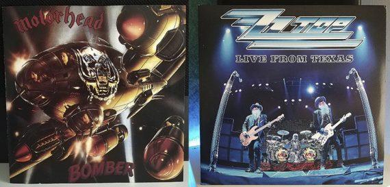 Motörhead Bomber ZZ Top Live From Texas disco