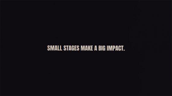 Neil Young apoyando el proyecto Save our stages (salva nuestros escenarios)