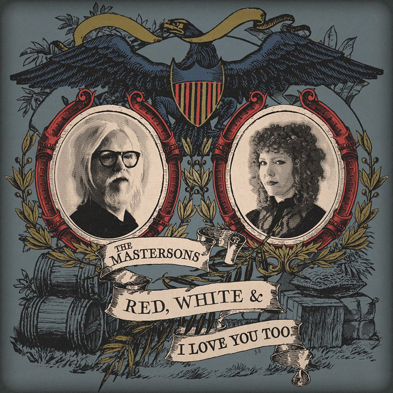 Nuevo disco de The Mastersons, Red, White & I Love You Too