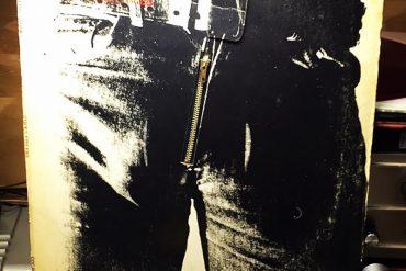 Rolling Stones Sticky Fingers aniversario 1971