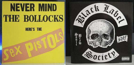 Sex Pistols Never Mind the Bollocks, Here's the Sex Pistols Black Label Society Sonic Brew disco