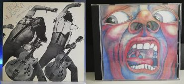 Ted Nugent Free-for-All King Crimson In the Court of the Crimson King disco