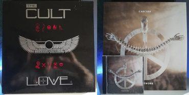 The Cult Love Carcass Heartwork disco