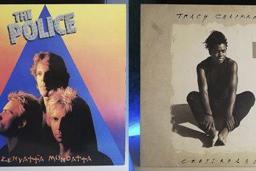 The Police Zenyatta Mondatta Tracy Chapman Crossroads disco