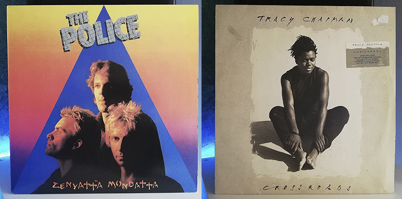 The Police Zenyatta Mondatta Tracy Chapman Crossroads disco