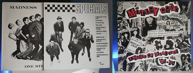 The Specials The Specials Madness One Step Beyond... Mötley Crüe Decade of Decadence discos