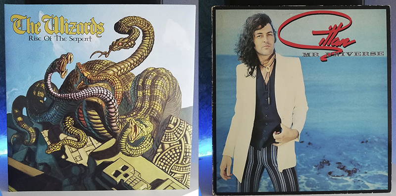 The Wizards Rise of the Serpent Gillan Mr. Universe disco