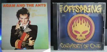 Adam & The Ants Prince Charming The Offspring Conspiracy of One disco