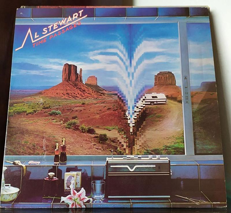 Al Stewart Time Passages disco