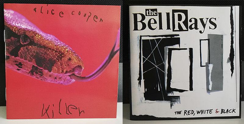 Alice Cooper Killer The Bellrays The Red, White & Black disco