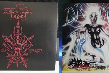 Dr. Know Wreckage In Flesh Celtic Frost Morbid Tales disco