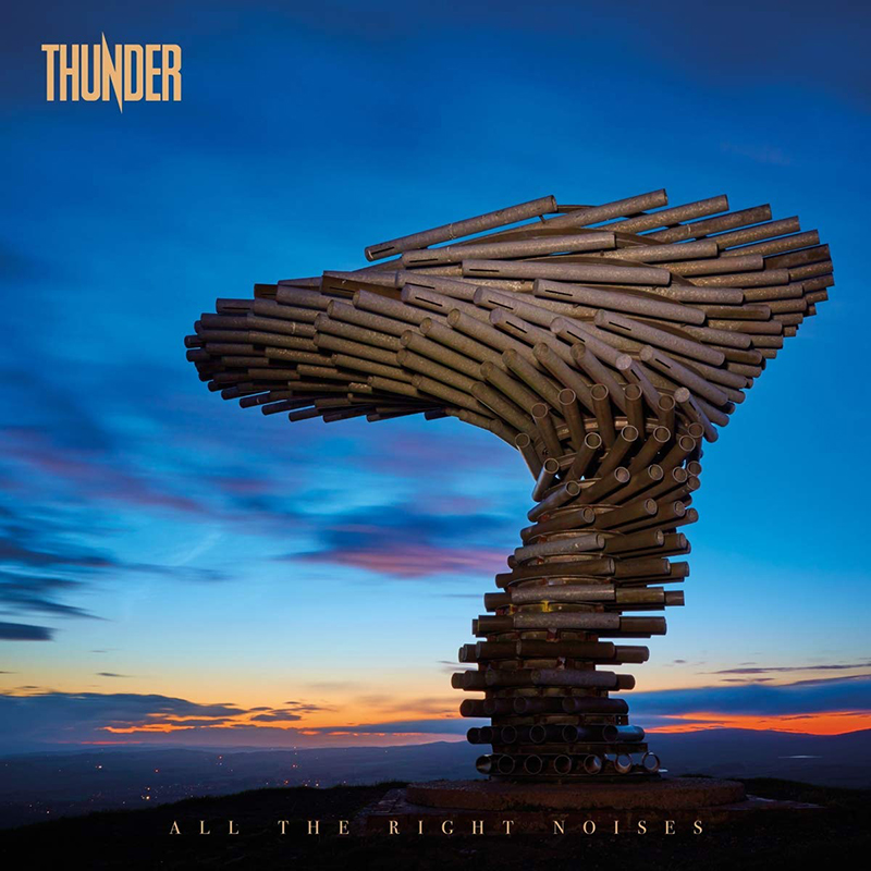 El nuevo disco de Thunder se llama All The Right Noises
