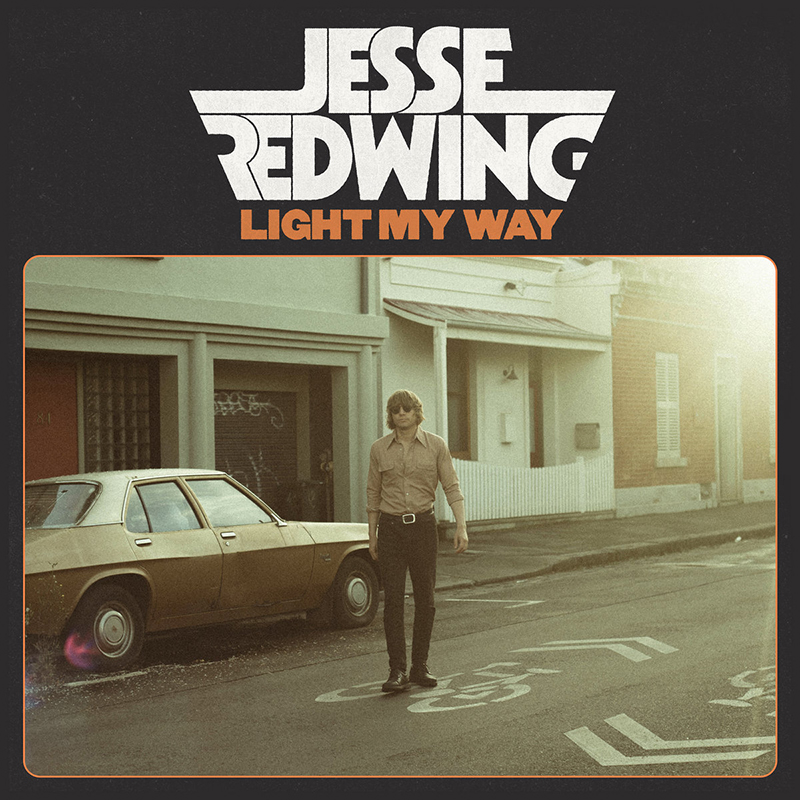 Jesse Redwing publica nuevo disco, Light my way