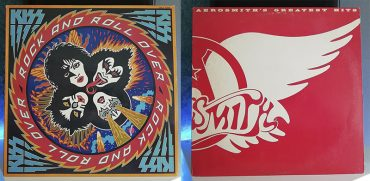Kiss Rock and Roll Over Aerosmith Greatest Hits disco