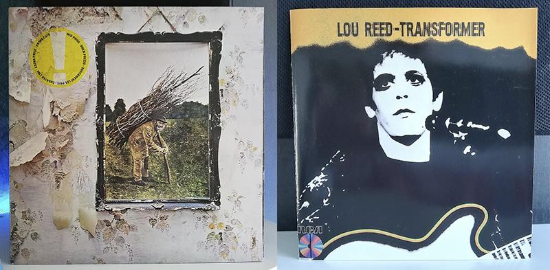 Led Zeppelin Led Zeppelin IV Lou Reed Transformer disco