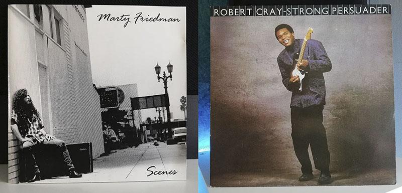 Marty Friedman Scenes Robert Cray Strong Persuader