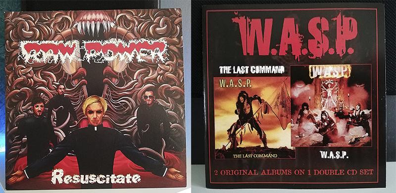 Raw Power Resuscitate W.A.S.P. The Last Command disco