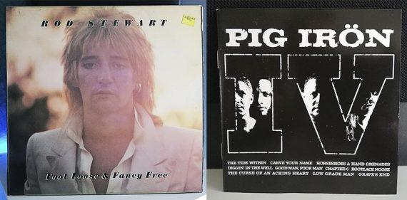 Rod Stewart Foot Loose & Fancy Free Pig Irön IV disco