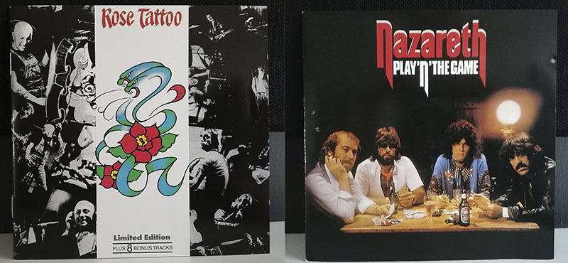 Rose Tattoo Rose Tattoo Nazareth Nazareth Play 'n' the Game disco