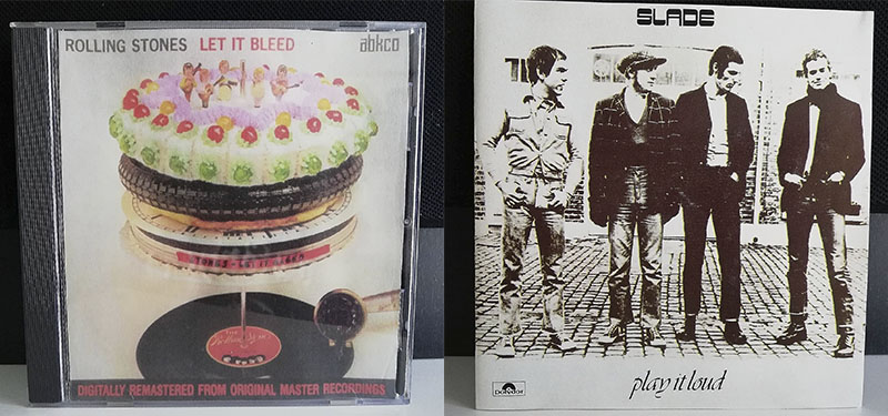 The Rolling Stones Let it Bleed Slade Play It Loud disco