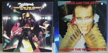 Whitesnake Live... in the Heart of the City Adam and the Ants Kings of the Wild Frontier disco