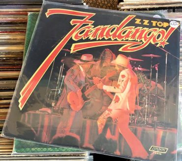 ZZ Top Fandango! disco