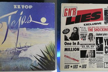 ZZ Top Tejas Guns N' Roses G N' R Lies disco