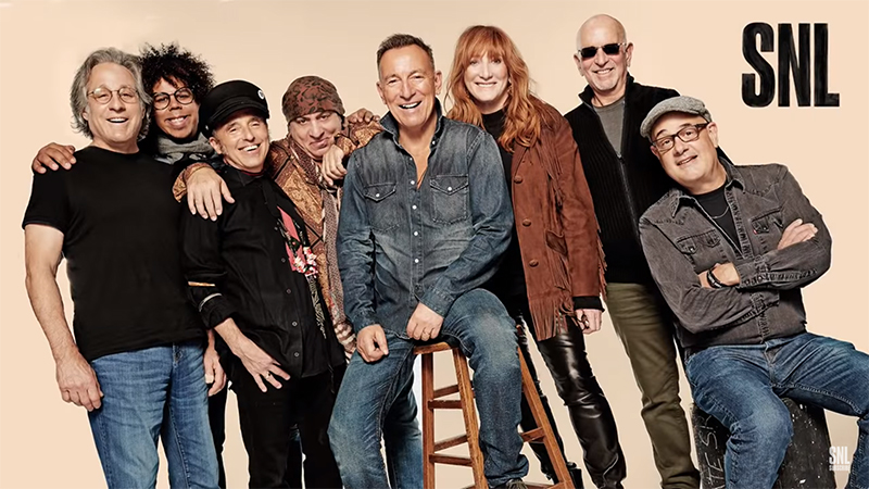 Bruce Springsteen and the E Street Band en el SNL