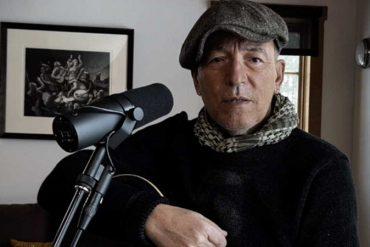 Bruce Springsteen recaudando fondos para Stand with teachers