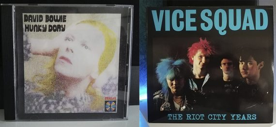 David Bowie Hunky Dory Vice Squad The Riot City Years disco